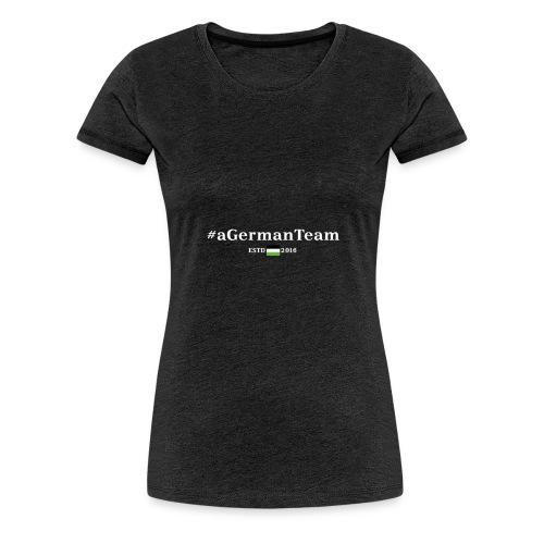 aGermanTeam_white - Frauen Premium T-Shirt