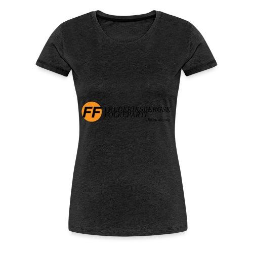 Din by, dit valg - Dame premium T-shirt