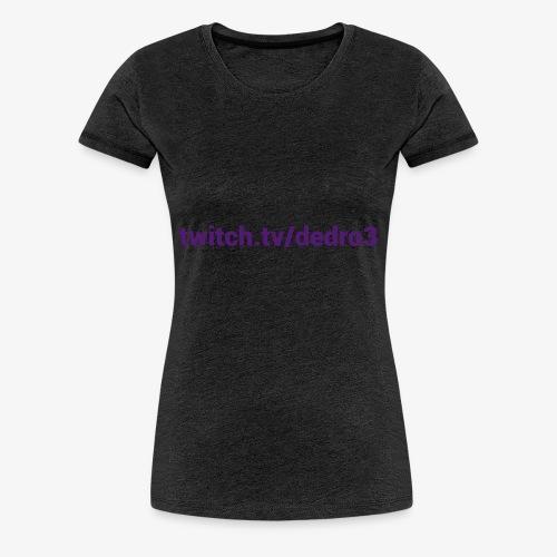 Dedro address - Maglietta Premium da donna