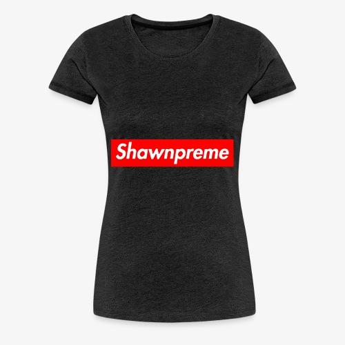 Shawnpreme logo - Dame premium T-shirt
