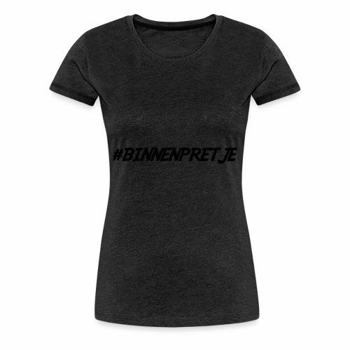 binnenpretje thermoskan - Vrouwen Premium T-shirt