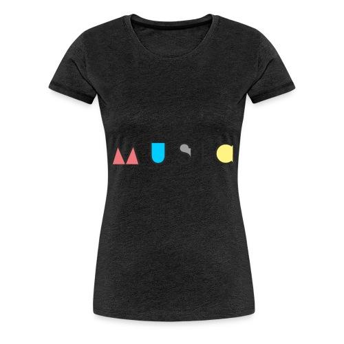 Music / Musik - Frauen Premium T-Shirt