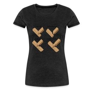 Lap joints - Women's Premium T-Shirt