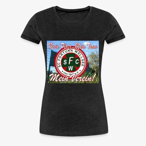 Mein Platz. Mein. Team. Mein Verein! - Frauen Premium T-Shirt