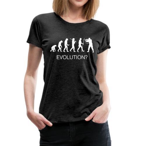 EVOLUTION & Guerres - T-shirt Premium Femme