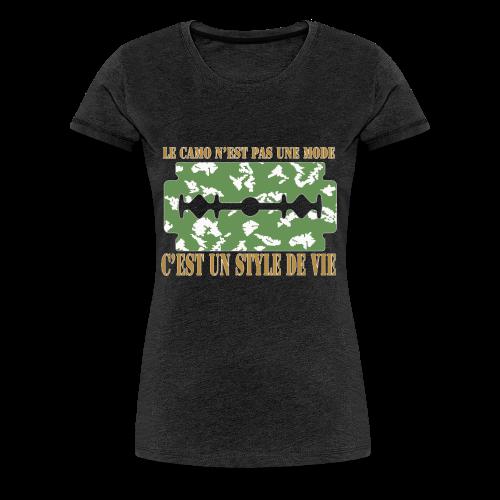 camolife3 - T-shirt Premium Femme
