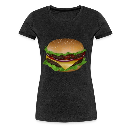 Burger - Premium-T-shirt dam
