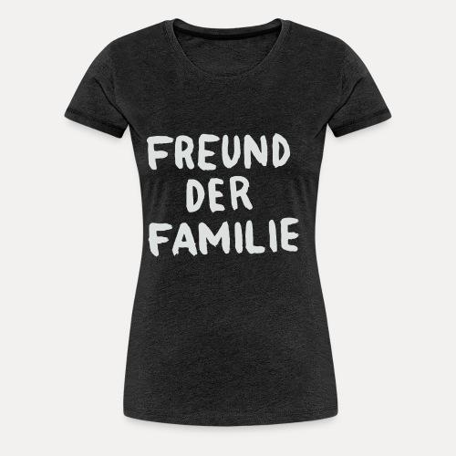 FDF LOGO WHITE - Frauen Premium T-Shirt