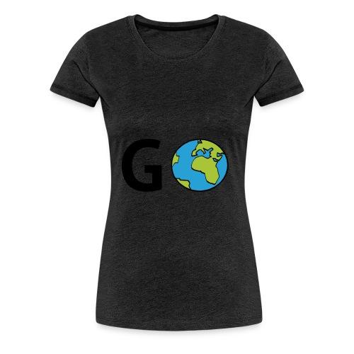 GO - T-shirt Premium Femme
