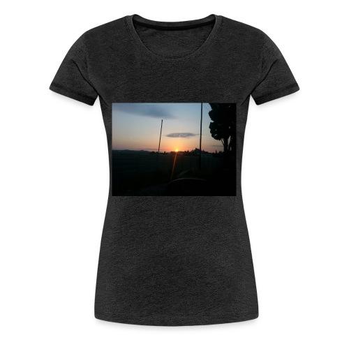 sol de noche - Camiseta premium mujer
