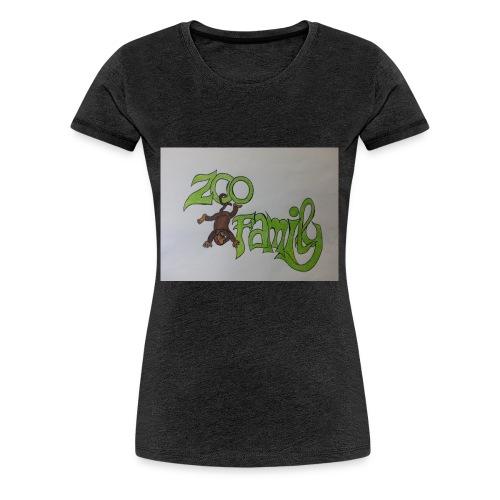 Zoo Family Bozza - Maglietta Premium da donna
