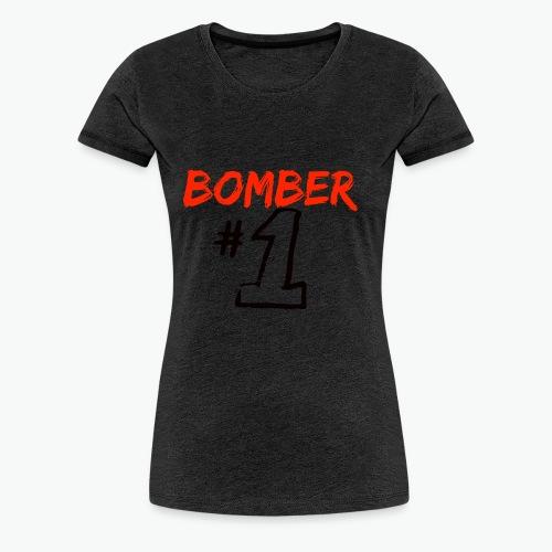 bomber1-png - Maglietta Premium da donna