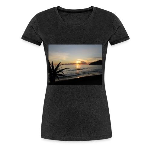 Tramonto al mare - Maglietta Premium da donna
