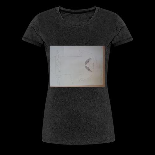 QualamTarash Brustflügel - Frauen Premium T-Shirt