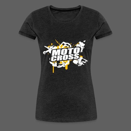 Motocross Supermoto Enduro Vol.I o/w - Frauen Premium T-Shirt