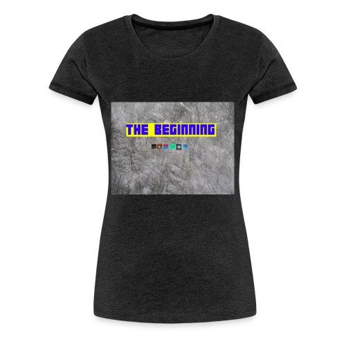 The Beginning - Women's Premium T-Shirt