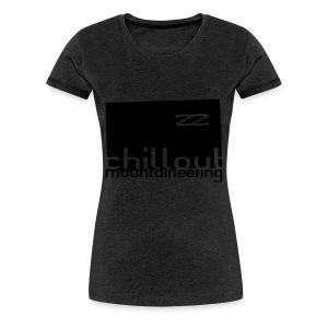 Chillout Mountaineering Hood / Hemsedal Edition - Premium T-skjorte for kvinner