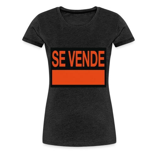 SE VENDE - Camiseta premium mujer