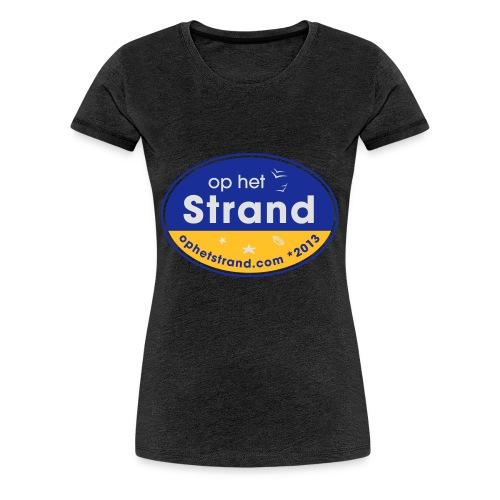 Op het Strand - Vrouwen Premium T-shirt