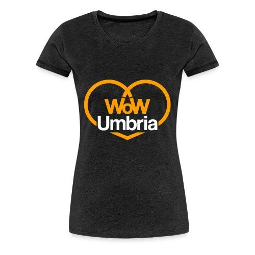 wow umbria - Maglietta Premium da donna