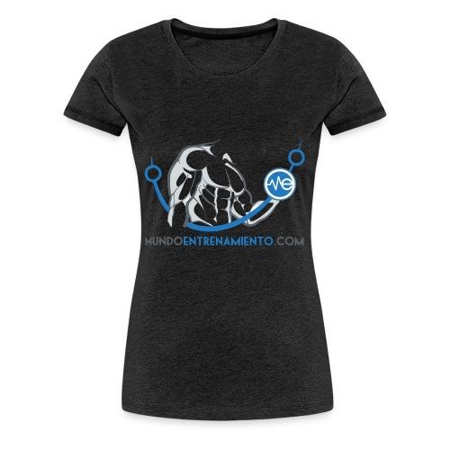 Camiseta de deporte MundoEntrenamiento.com - Camiseta premium mujer