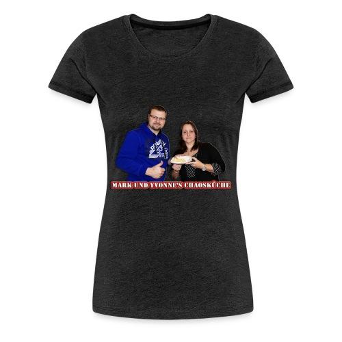 Mark und Yvonne Chaoskueche Logo - Frauen Premium T-Shirt