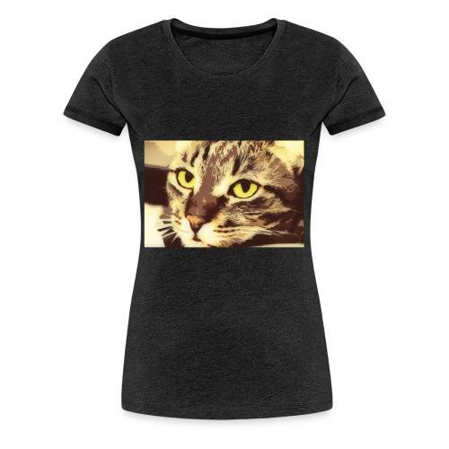 Cat - Naisten premium t-paita