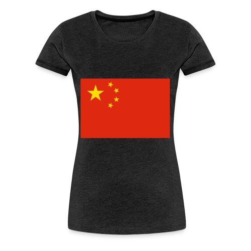 Small Chinese flag - Women's Premium T-Shirt