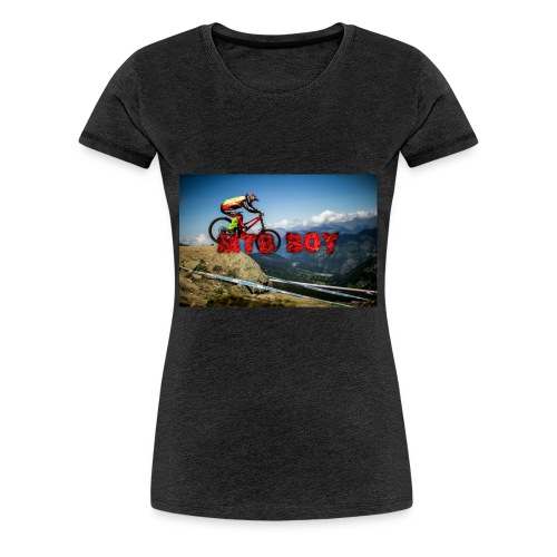 mtb boy clothes - Women's Premium T-Shirt