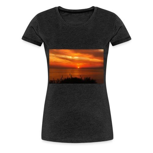 Sonnenuntergang - Frauen Premium T-Shirt