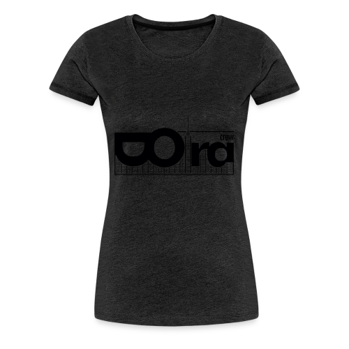 DORA Crew Logo II - Maglietta Premium da donna