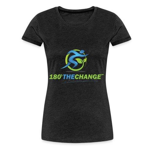 180TC Logo Hochformat - Frauen Premium T-Shirt