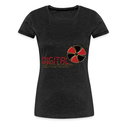 Digital Dancer - Vrouwen Premium T-shirt