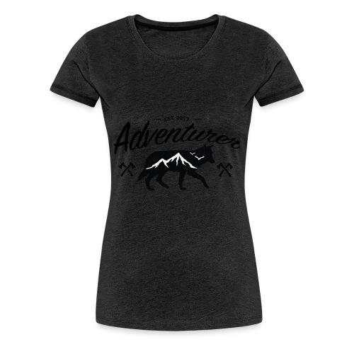 Adventurer Original - Premium T-skjorte for kvinner