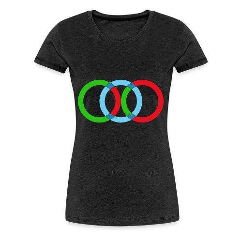 OLIMPIA-png - Maglietta Premium da donna