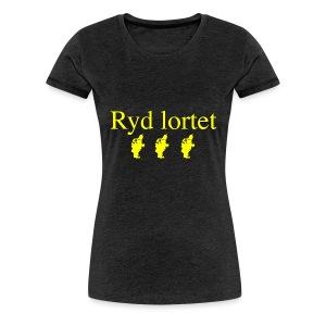 Ryd Lortet - Dame premium T-shirt