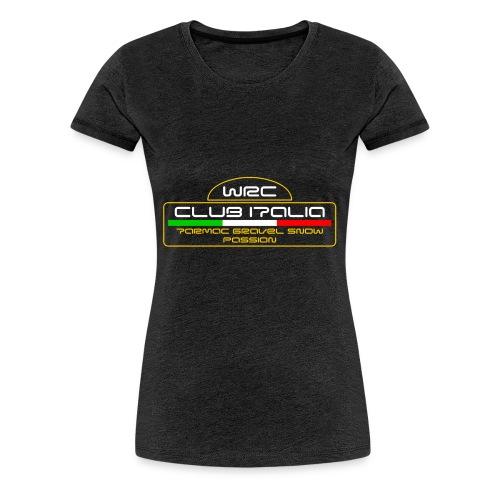 WRC CLUB ITALIA LOGO POSTERIORE - Maglietta Premium da donna