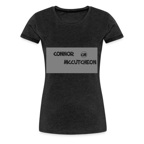 Connor McCutcheon Logo - Women's Premium T-Shirt