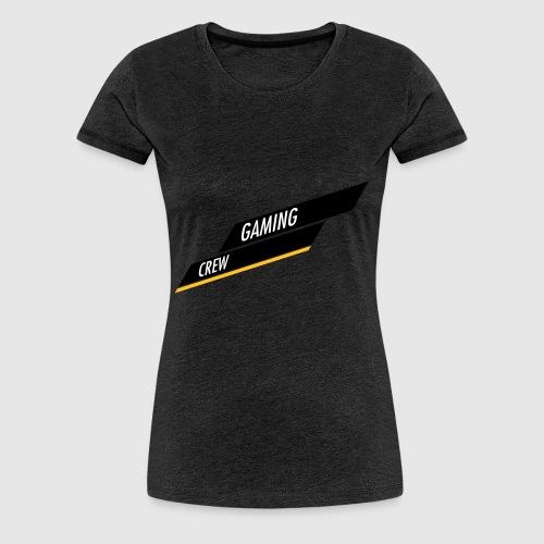 GAMING CREW Schräg Balken - Frauen Premium T-Shirt