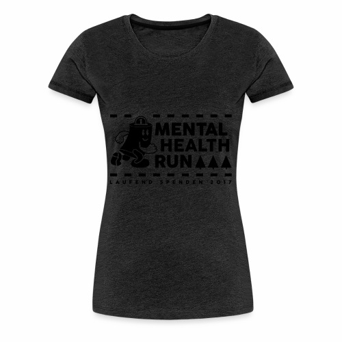 mental healt run - Frauen Premium T-Shirt