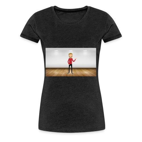 Youtubeman-png - Camiseta premium mujer