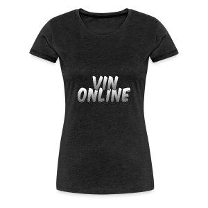 VinOnline - Vrouwen Premium T-shirt