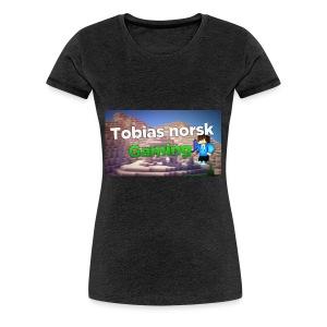 Tobias Norsk Gaming - Premium T-skjorte for kvinner