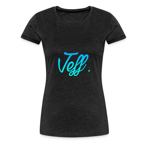 Jeff. Sweater - Vrouwen Premium T-shirt