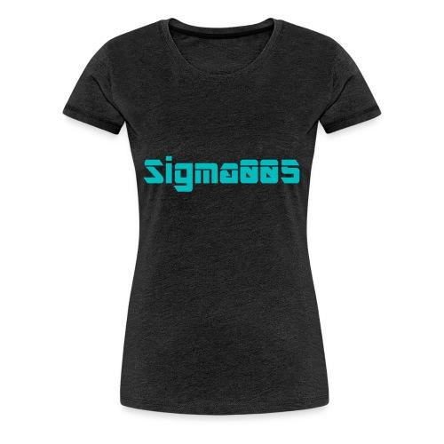 Sigma005 - Premium-T-shirt dam