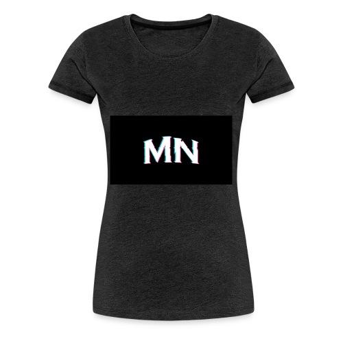MN-Glitch Logo - Frauen Premium T-Shirt