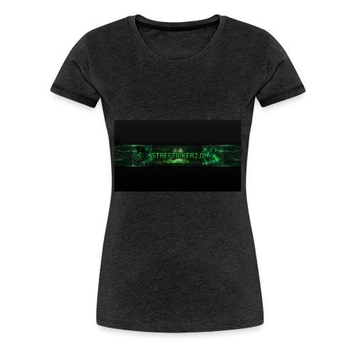 Streetbiker logo - Frauen Premium T-Shirt