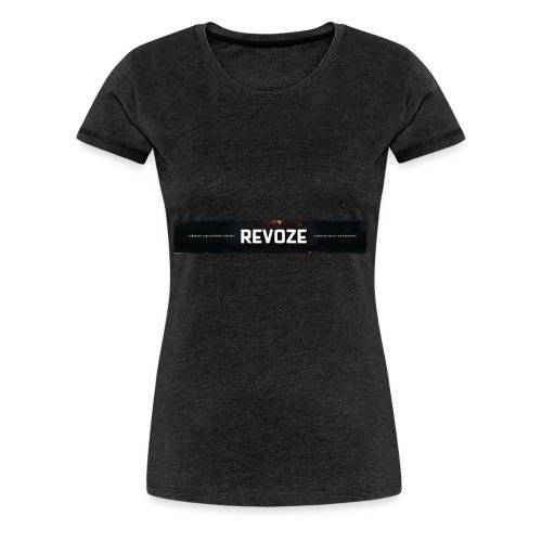 Merchandise met banner - Vrouwen Premium T-shirt