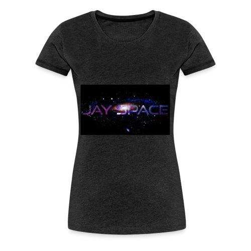 Jay Space - Naisten premium t-paita