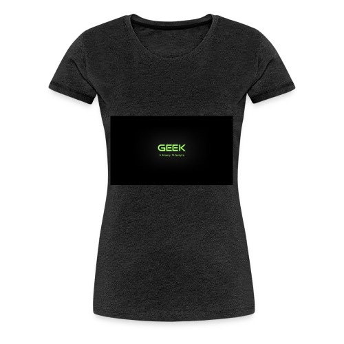 geek_binary_life_style - Camiseta premium mujer
